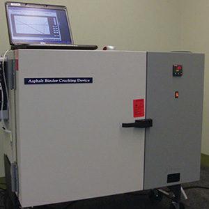 Устройство для растрескивания битумных вяжущих ABCD