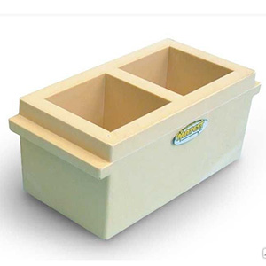 Формы куба для бетона 2ФК-100 пластиковые C232N
