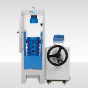 Ручная машина для испытания на сжатие кубов и цилиндров UTC-4713G.MLP