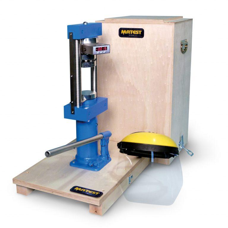 Пресс ручной C094 для испытаний бетона и камня